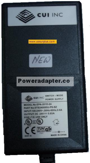 CUI EPAS-101W-12 SWITCH-MODE POWER SUPPLY