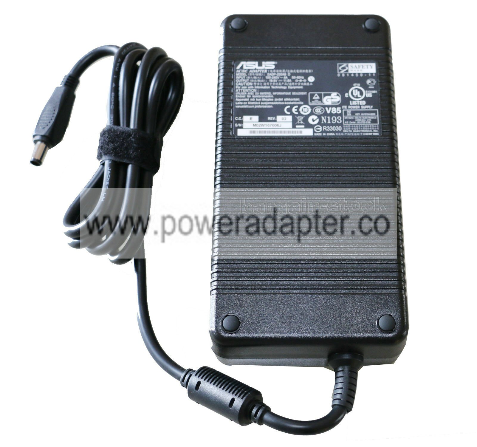 MSI ADP-230EB T ADP-230CB B New 19.5V 11.8A 230W AC Power Adapter For ASUS ROG